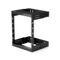 """StarTech.com 12U wandmonteerbaar server rack open frame serverkast tot wel 20"""" diep Stellingen/racks - Zwart"""