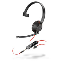 POLY Blackwire 5210 Headset - Zwart