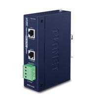 PLANET Industrial IEEE 802.3at Gigabit High Power over Ethernet Splitter Netwerk splitter - Blauw