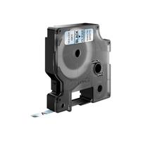 DYMO D1 -Standard Labels - Black on Transparent - 6mm x 7m Labelprinter tape