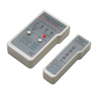 Intellinet Multifunction Cable Tester, RJ-45 and RJ-11, UTP/STP/FTP, Shielded and Unshielded Cable network .....