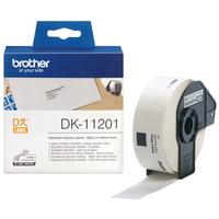 Brother Standaard adreslabels papier 29 x 90 mm Labelprinter tape - Zwart,Wit