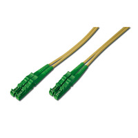 ASSMANN Electronic E2000 - E2000, 40m Câble de fibre optique - Vert,Jaune