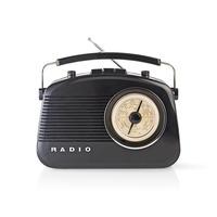 Nedis RDFM5000BK Radio - Noir