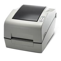 Bixolon 203dpi, 178mm/sec, Peeler, Ethernet, Serial, USB, Light Gray Labelprinter - Zwart