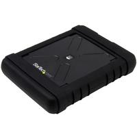 StarTech.com Robuuste harde-schijfUSB 3.0 naar 2,5 inch SATA 6 Gbps HDD of SDD UAS Behuizing - Zwart
