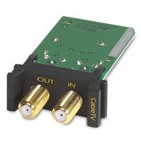 APC Surge Module Coaxial Adaptateur de câble - Noir