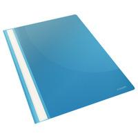 Esselte Report File Light Blue Stofklepmap - Blauwgroen