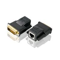 Aten Mini Cat 5 DVI-verlenger (1080p bij 15 m/1080i bij 20 m) AV extenders - Zwart