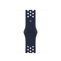 Apple Sportbandje van Nike - Midnight Navy/Mystic Navy (41 mm) - Marineblauw