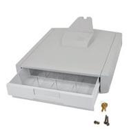 Ergotron Tiroir de stockage SV premier Accessoires panier multimédia - Gris, Blanc