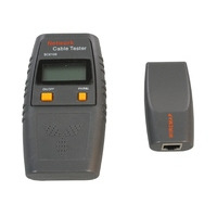Microconnect Cable Tester UTP/STP/RJ11-45 Cable network tester - Zwart