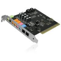 Ewent PCI 32-bit, C-Media CM 8768, 32 Ohms, 7.1 ch Geluidskaart