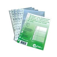 Rillstab Set/10 businesscard pockets Porte-cartes