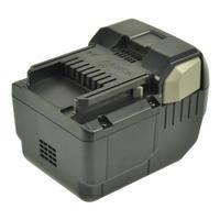 2-Power Power Tool Battery, 25.2V, 3000mAh - Zwart