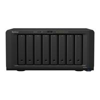 "Synology DiskStation DS1819+, Intel Atom C3538 2.1 GHz, 4 GB DDR4, 8x 2.5/3.5"" SATA HDD/SSD, 4x RJ-45, 4x USB ....."