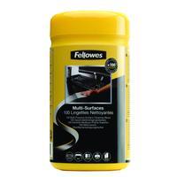 Fellowes 100 Oppervlakte reinigingsdoekjes ( dispenser ) Reinigingskit
