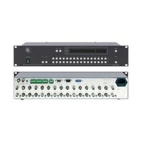 Kramer Electronics 16x16 Composite Video Matrix Switcher (90MHz) Commutateur vidéo - Noir,Métallique