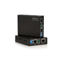 StarTech.com 10/100 VDSL2 Ethernet Verlenger via Tweedraads Kabel 1km Netwerk verlengers - Zwart