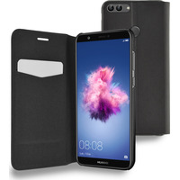 Azuri Booklet ultra thin met staanfunctie - zwart - Huawei P Smart