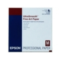 Epson Ultrasmooth Fine Art Paper, DIN A3+, 325g/m², 25 Vel Grootformaat media