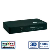 Value HDMI Splitter, 4-way Videosplitter