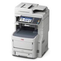 OKI MC770dnfax A4 couleur tout-en-un, recto-verso, fax Multifonction - Gris, Blanc