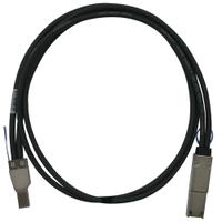 QNAP CAB-SAS05M-8644-8088 Kabel - Zwart, Metallic