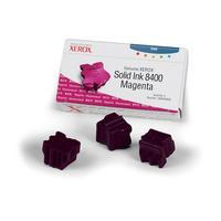 Xerox Genuine Solid Ink 8400 Magenta (Three Sticks) Bâton d'encre