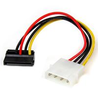 StarTech.com Adaptateur de câble d'alimentation LP4 vers SATA à angle gauche 4 broches - 15 cm