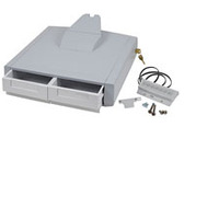 Ergotron Tiroir principal double SV44 pour chariot pour portables Accessoires panier multimédia - Gris, Blanc