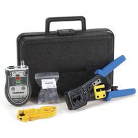 Black Box EZ-RJPRO CAT5e Termination Kit Outils de décapage - Noir