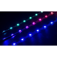 Speed-Link Longueur des bandes à LED : 2 × 300mm, 1 × 450mm, Longueur du câble de raccordement : 400mm .....