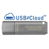 Kingston Technology DataTraveler Locker+ G3 64GB Clé USB - Argent