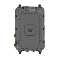 Cisco Two radios (4x4:3 5 GHz and 4x4:3 2.4 GHz) with External Antennas, AC, DC, or PoE input power Antenne - Grijs