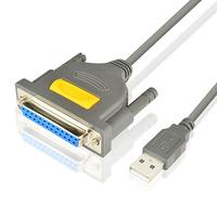 Axagon ADP-1P25 USB printer adapter, 1.5 m Printerkabel - Grijs