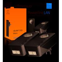Devolo dLAN 550 duo+ Starter Kit Powerline adapter - Wit