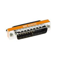 ACT D-Sub, 25 poles Adaptateur de câble - Orange,Acier inoxydable