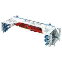 Hewlett Packard Enterprise HP DL385p Gen8 x16 2x8 PCI-E Riser Kit Slot expander