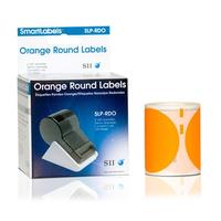 Seiko SLP-RDO Etiket - Oranje