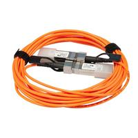 Mikrotik SFP+ Active Optics direct attach cable, 5m Fiber optic kabel - Oranje