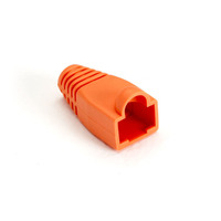 Black Box Colour-Coded Snagless Pre-Plugs Kabelbeschermer - Oranje