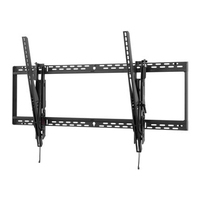"""Peerless Smartmount Universal Tilt Wall Mount For 60"""" To 98"""" Flat Panel Displays Montagehaak - Zwart"""