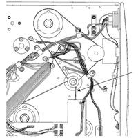 Zebra 45189-13 Courroie d'imprimante - Noir