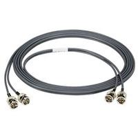 Black Box 7.6m BNC-BNC Câble coaxial - Gris