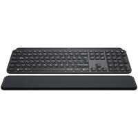 Logitech MX Keys avec repose-poignets - QWERTY Clavier - Noir