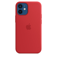 Apple Coque en silicone avec MagSafe pour iPhone 12 mini - (PRODUCT)RED - Rouge