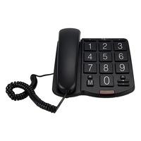 Profoon TX-575 Big Button Bureautelefoon Black Diverse hardware