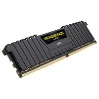 Corsair 8GB DDR4-2400 RAM-geheugen - Zwart