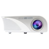 Salora Een compacte voordelige LED met ingebouwde TV tuner voorzien van 1200 lumen Beamer - Grijs, Wit